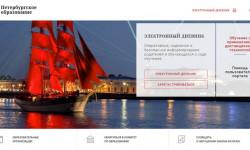 Как войти в личный кабинет электронного дневника Петербургского образования