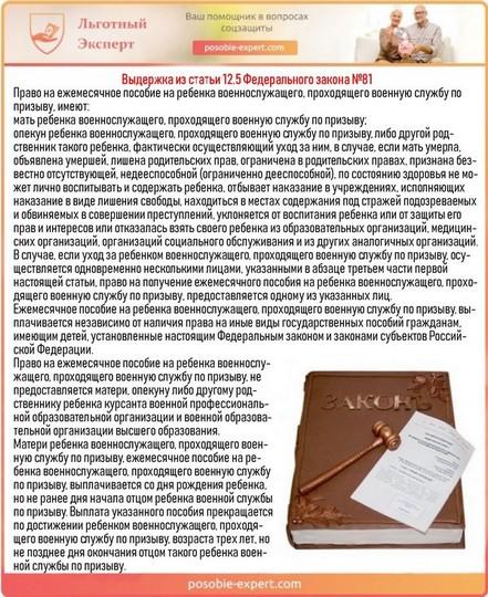 Выдержка из статьи 12.5 Федерального закона №81